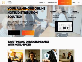 hotel-spider.com screenshot