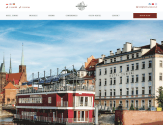 hotel-tumski.com.pl screenshot