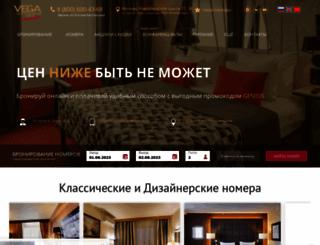 hotel-vega.ru screenshot