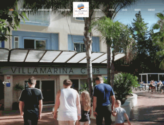 hotel-villamarina.com screenshot