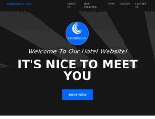 hotel-vishnu-vilas.chandralokgroup.com screenshot