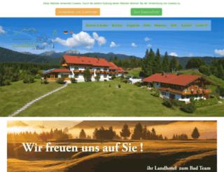 hotel-zum-bad.de screenshot