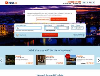hotel.cz screenshot