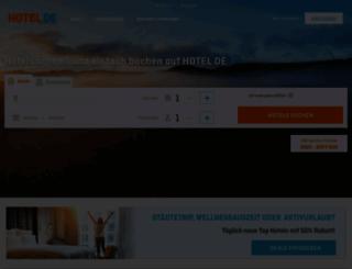 hotel.de screenshot
