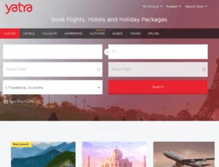 hotel.yatra.com screenshot