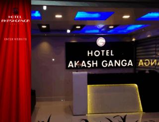 hotelakashgangajabalpur.com screenshot