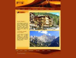 hotelalleghe.com screenshot