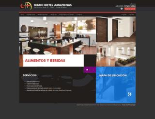 hotelamazonas.com.mx screenshot