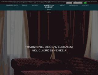 hotelamerican.it screenshot