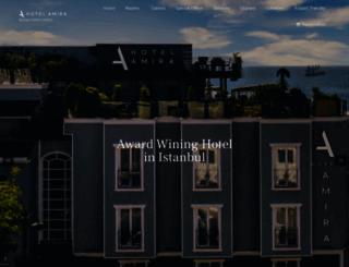 hotelamira.com screenshot
