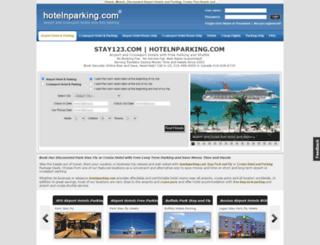 hotelandparking.com screenshot