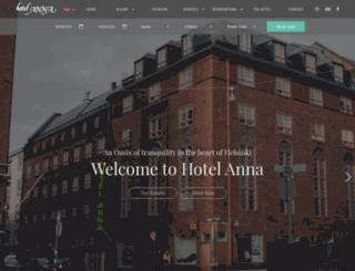 hotelanna.fi screenshot