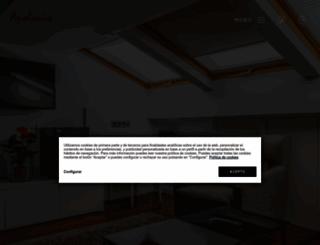 hotelapoloniasoria.com screenshot