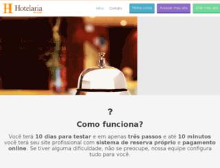 hotelarianaweb.com.br screenshot