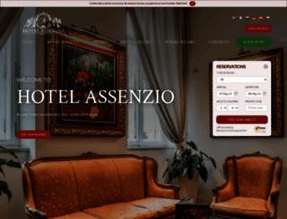 hotelassenzioprague.com screenshot