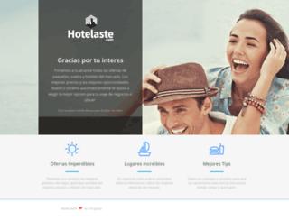 hotelaste.com screenshot