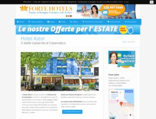 hotelastor.fc.it screenshot