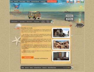 hotelblueseagarden.com screenshot