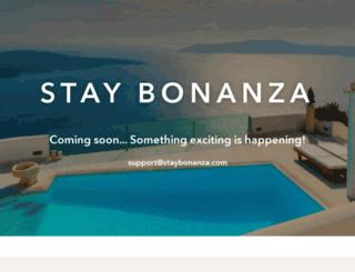 hotelbonanza.com screenshot