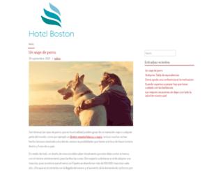 hotelboston.es screenshot