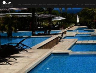 hotelboutiquemaloka.com screenshot
