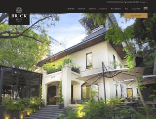 hotelbrick.com screenshot