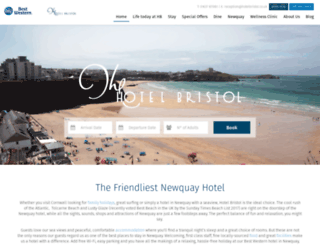 hotelbristol.co.uk screenshot