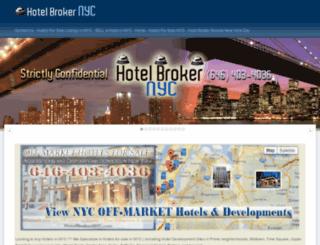 hotelbrokernyc.com screenshot