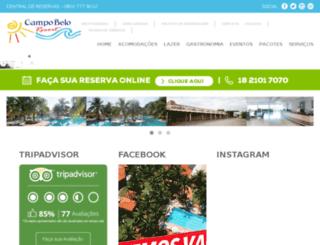 hotelcampobelo.com.br screenshot