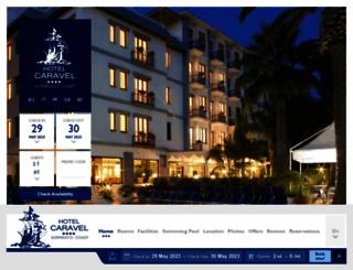hotelcaravel.com screenshot