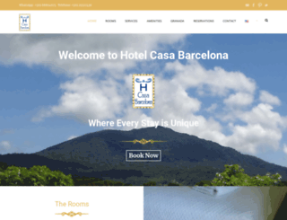hotelcasabarcelona.com screenshot