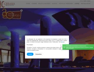 hotelcerana.com screenshot