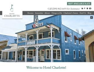 hotelcharlotte.com screenshot