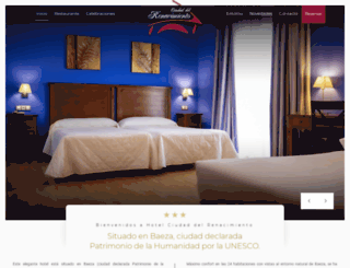 hotelciudaddelrenacimiento.com screenshot