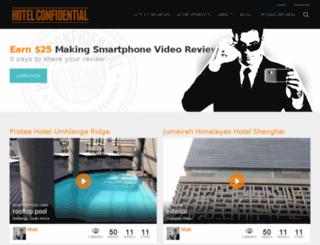 hotelconfidential.com screenshot