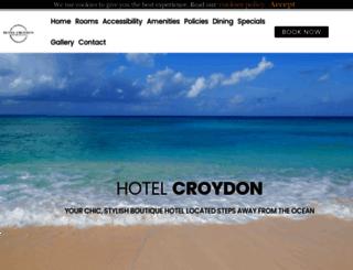 hotelcroydonmiami.com screenshot