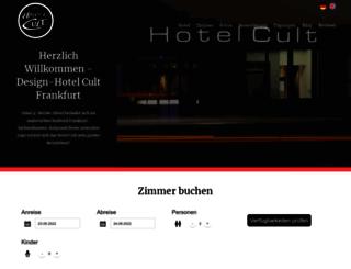 hotelcult.de screenshot