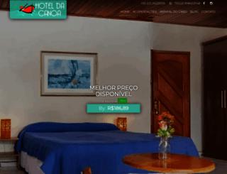 hoteldacanoa.com.br screenshot