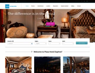 hoteldaphne.com screenshot