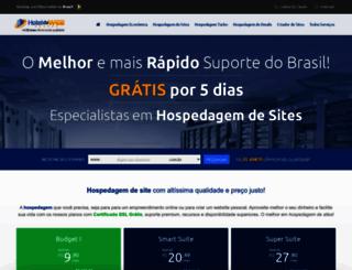 hoteldaweb.com.br screenshot
