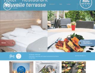 hoteldechailly-montreux.ch screenshot
