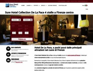 hoteldelapace.com screenshot