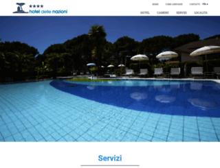 hoteldellenazioni.com screenshot