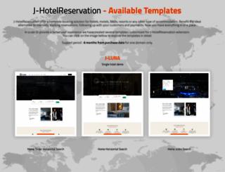 hoteldemo.cmsjunkie.com screenshot