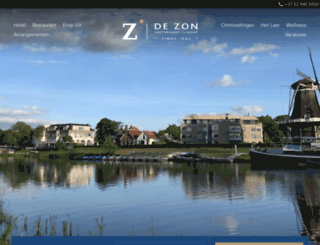 hoteldezon.nl screenshot