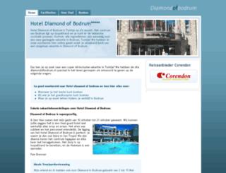 hoteldiamondbodrum.nl screenshot