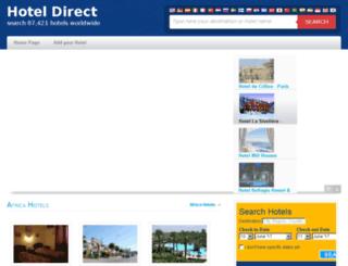 hoteldirect.me screenshot
