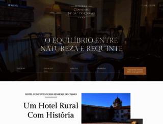 hoteldocarmo.com screenshot