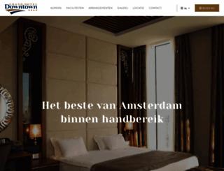 hoteldowntown.nl screenshot