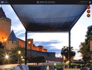 hotelduchateau.net screenshot